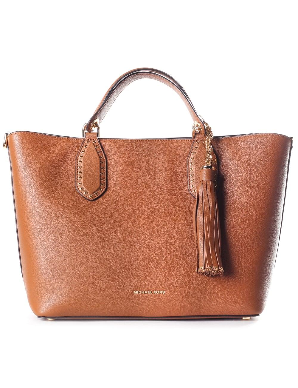 8bb495cead8e Michael Kors Women s Brooklyn Large Grab Bag