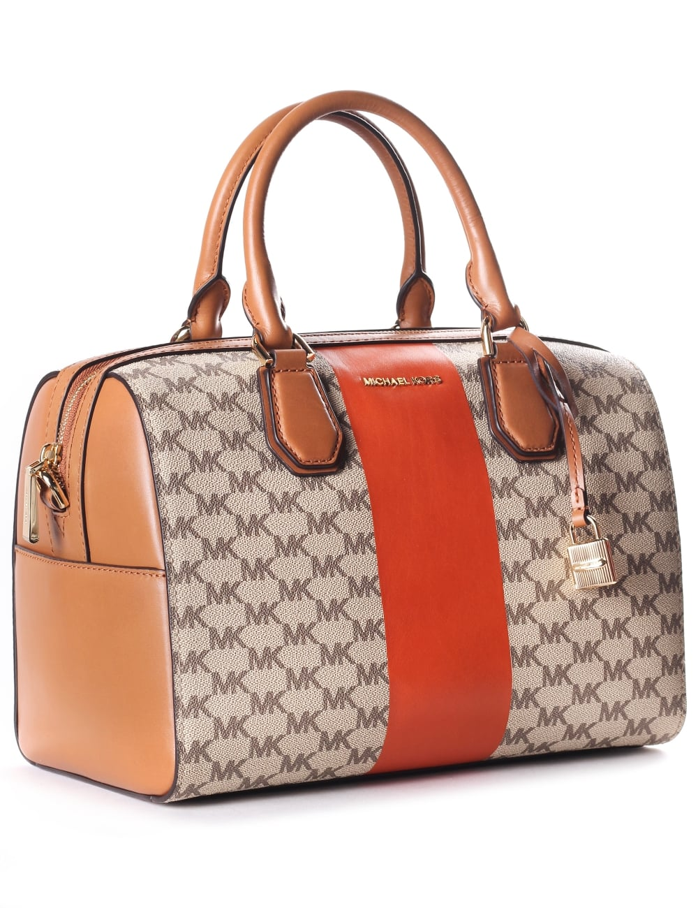 0a235dc72f9f Michael Kors Women s Centre Stripe Mercer Large Convertible Tote Bag