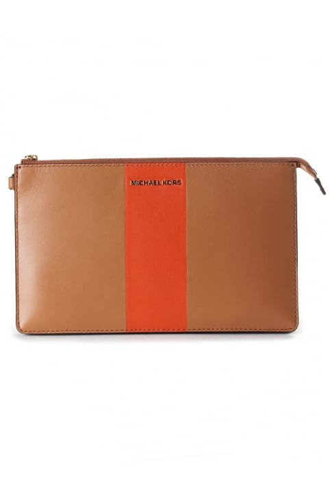 Women's Daniela Large Center Stripe Wristlet