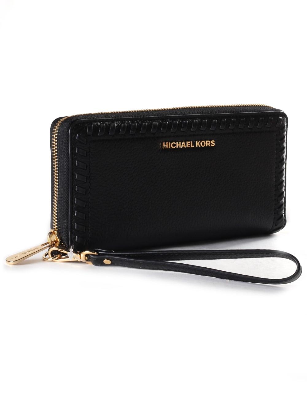 e9059f64e347de ... Women039s Lauryn Travel Continental Wristlet Wallet Michael kors ...