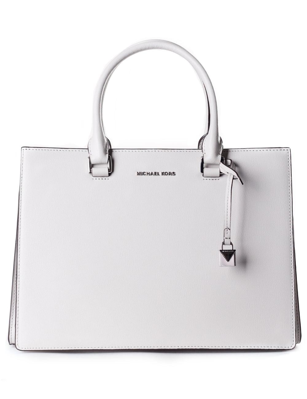 f7a7496bc10e6 Michael Kors Women s Medium Sutton Gusset Satchel Bag