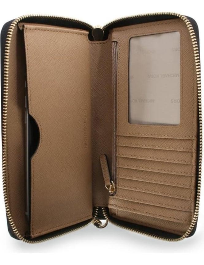 7545b480b236 Michael Kors Women's Mercer Large Flat Multifunction Phone Case