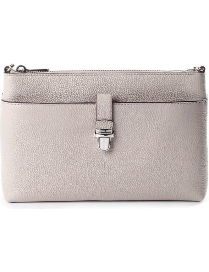 f80306f1aa55 Michael Kors Women's Mercer Snap Pocket Cross Body Bag Cement