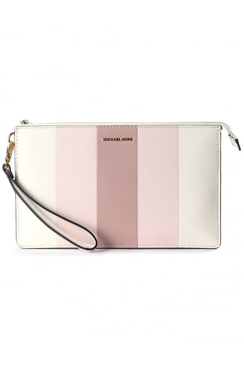Women's Multi Stripe Daniela Large Wristlet
