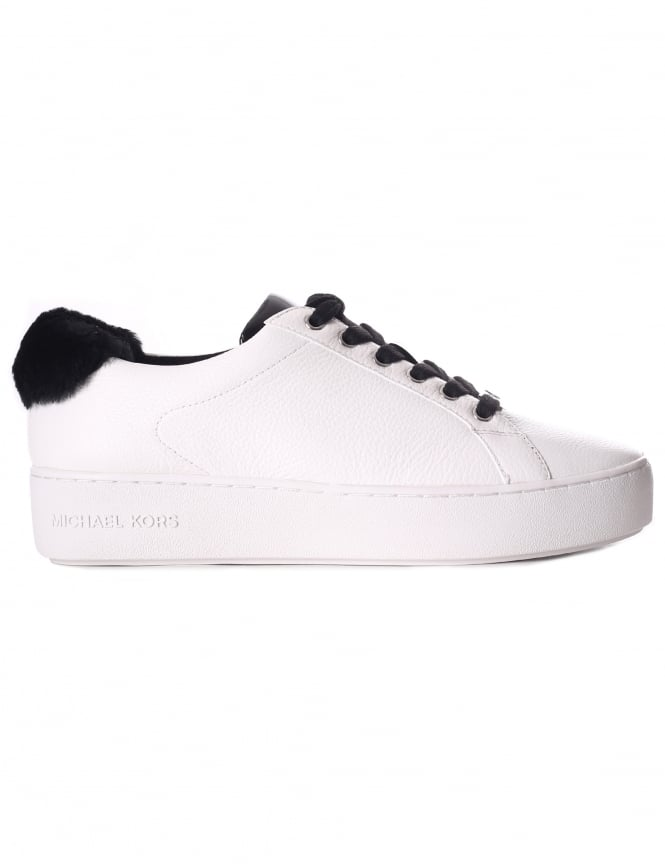 Michael Kors Women's Poppy Lace Up Trainer