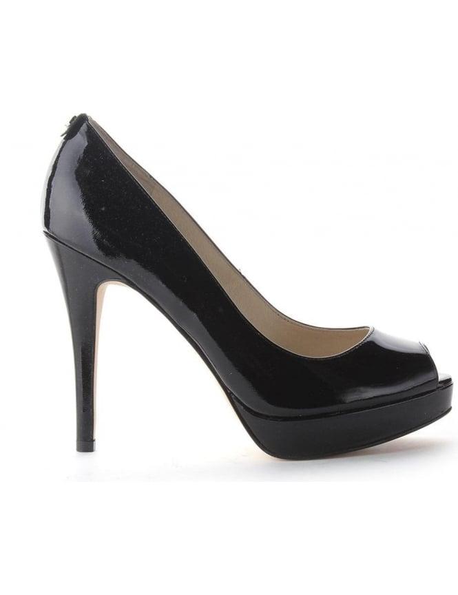 99c52f713189 Michael Kors York Women s Platform Heeled Shoe Black