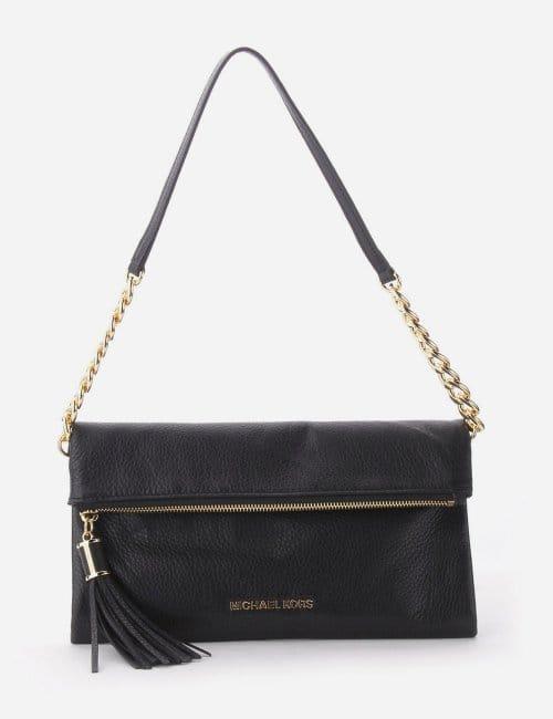 Michael Kors Zip Detail Women S Clutch Bag Black