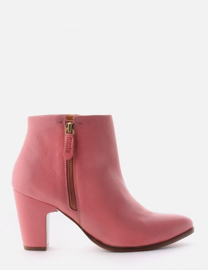 Val Women's Ankle Boot Pink