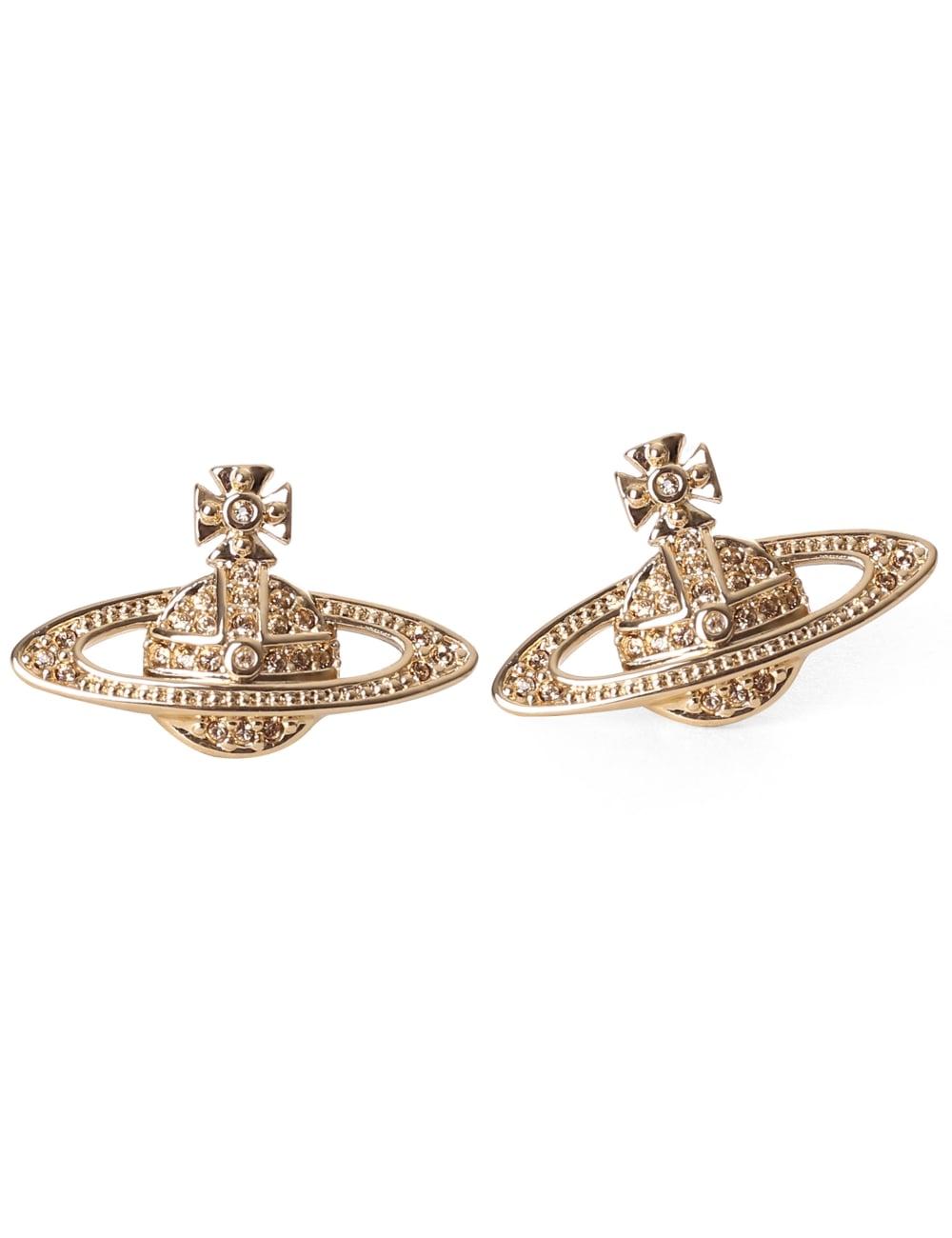 8ed1eb8a745 Vivienne Westwood Mini Bas Relief Earrings