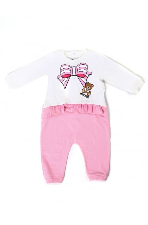 Baby Girl Frill Leggings Babygrow