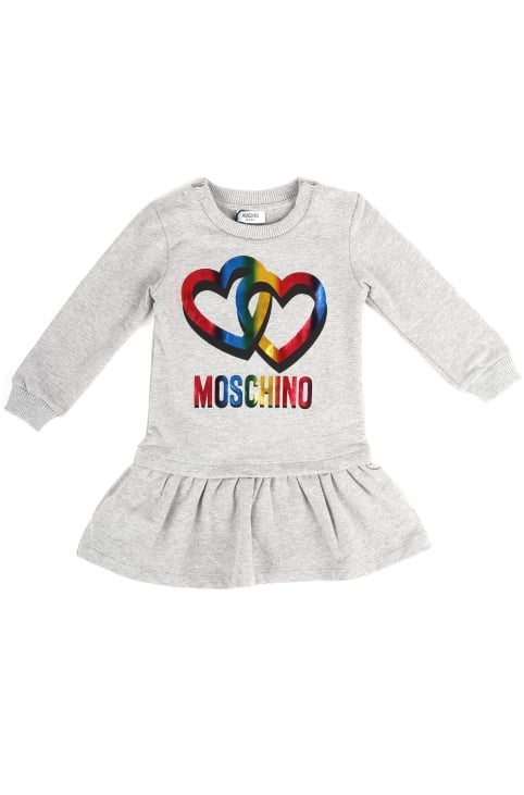 Baby Girls Double Heart Dress