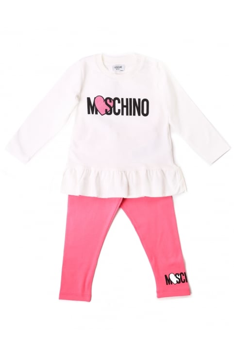 Baby Girls Tee And Leggings Set