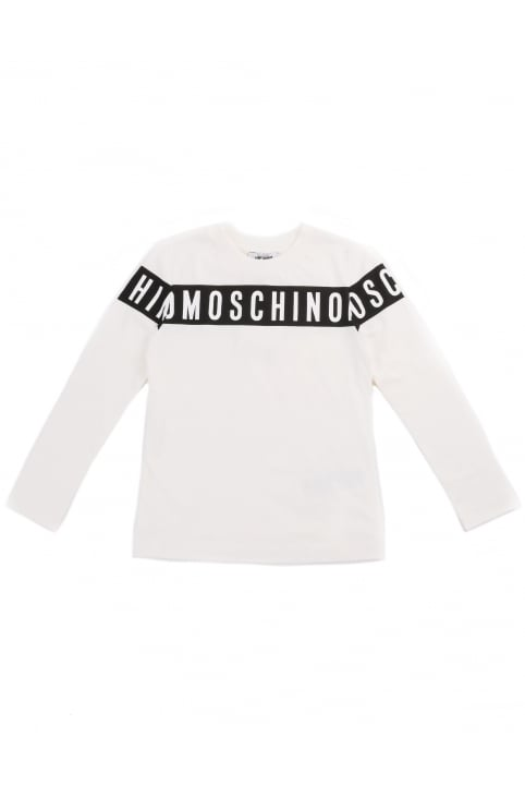 Boys Logo Long Sleeve Tee