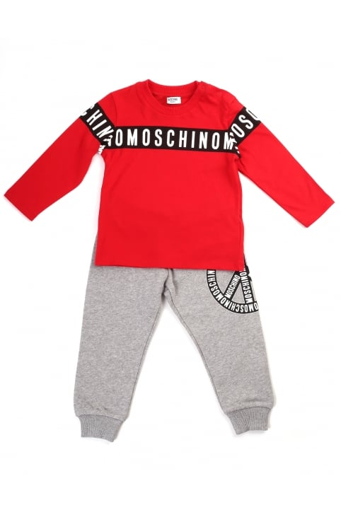 Boys Tee And Trousers Set