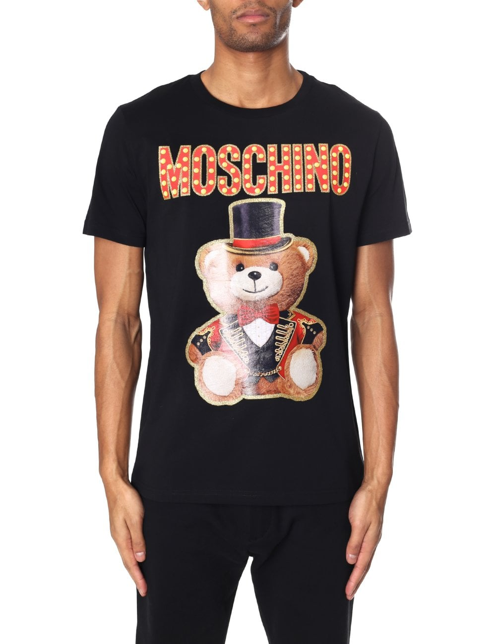 244f8135 Moschino Couture Men's Circus Bear Tee