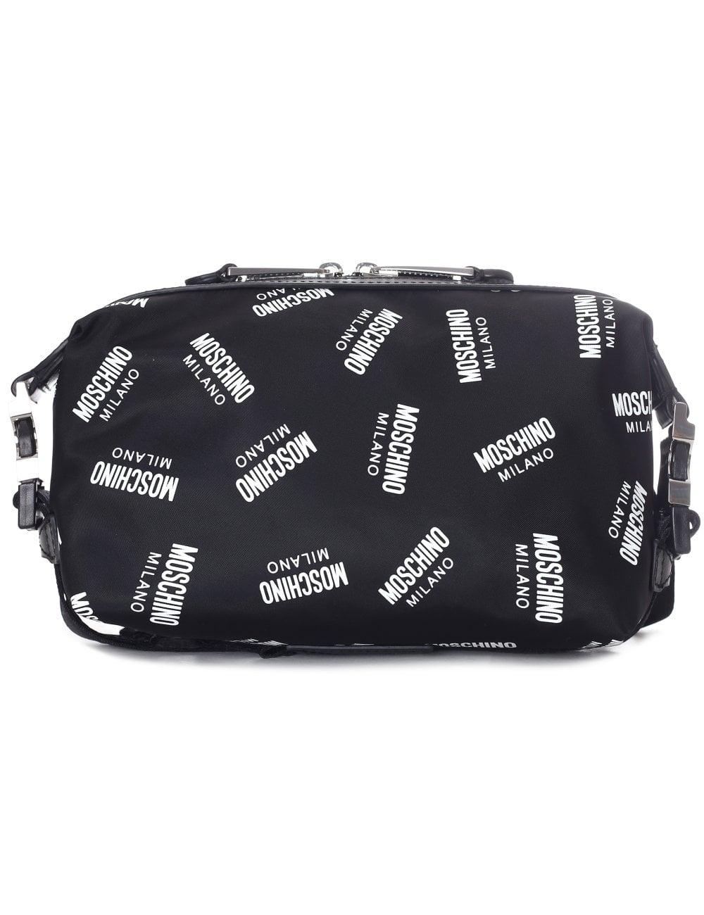 Moschino Couture Women S All Over Logo Bum Bag