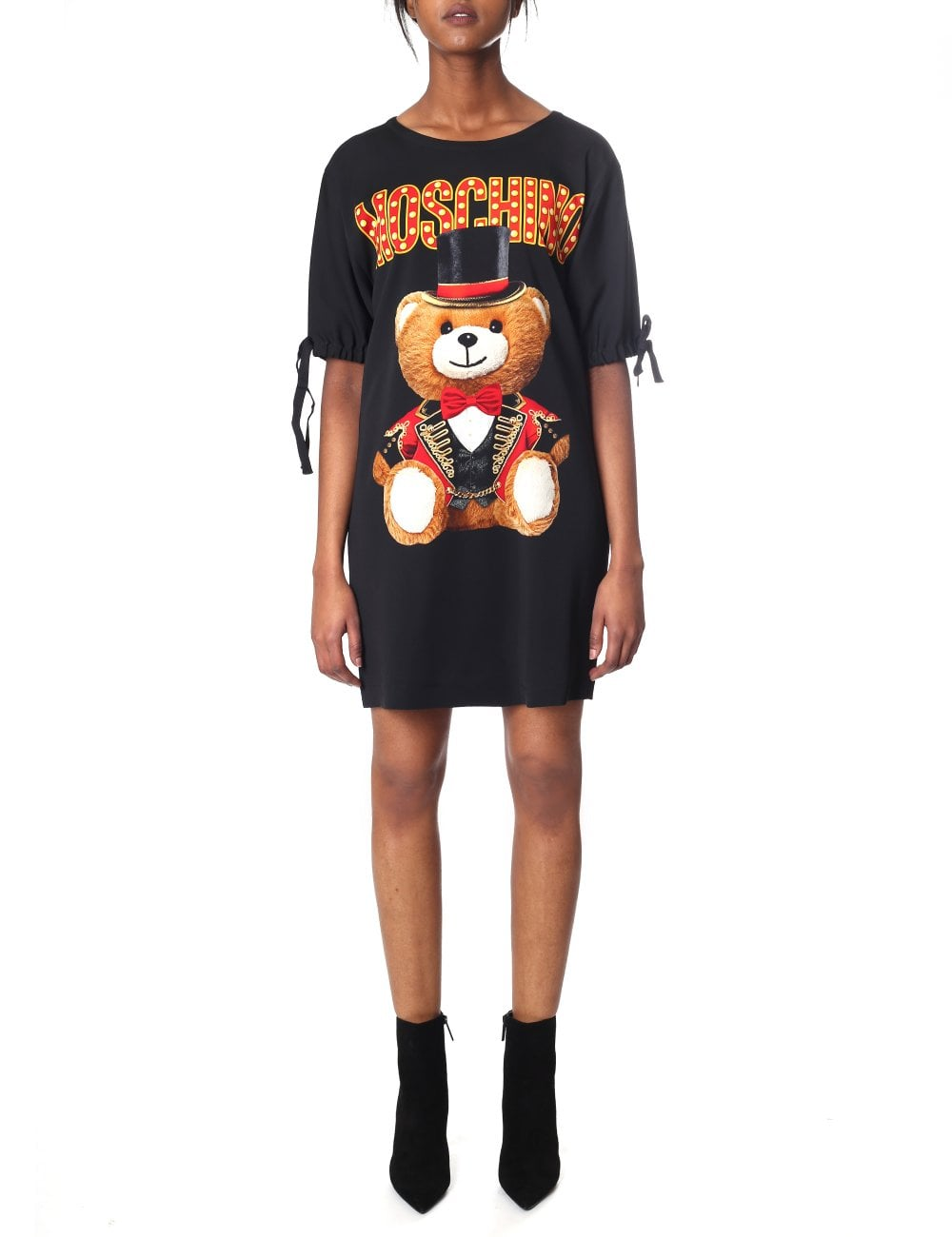 5c0cc9bb38f24 Moschino Couture Women s Bear With Hat Dress