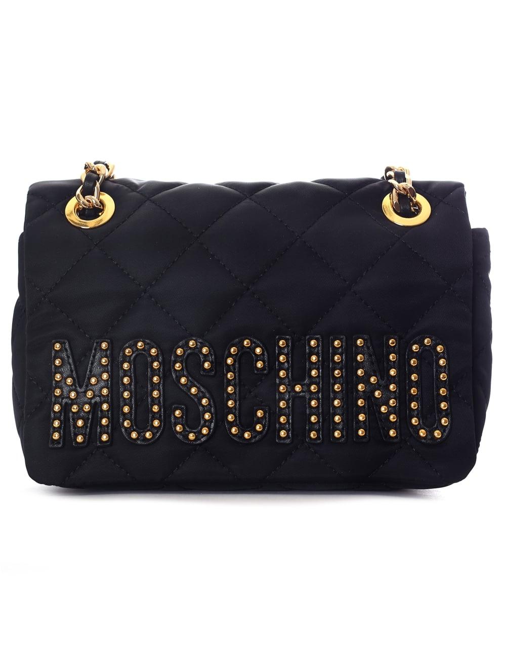 Moschino Studded shoulder bag sOK8n2ci