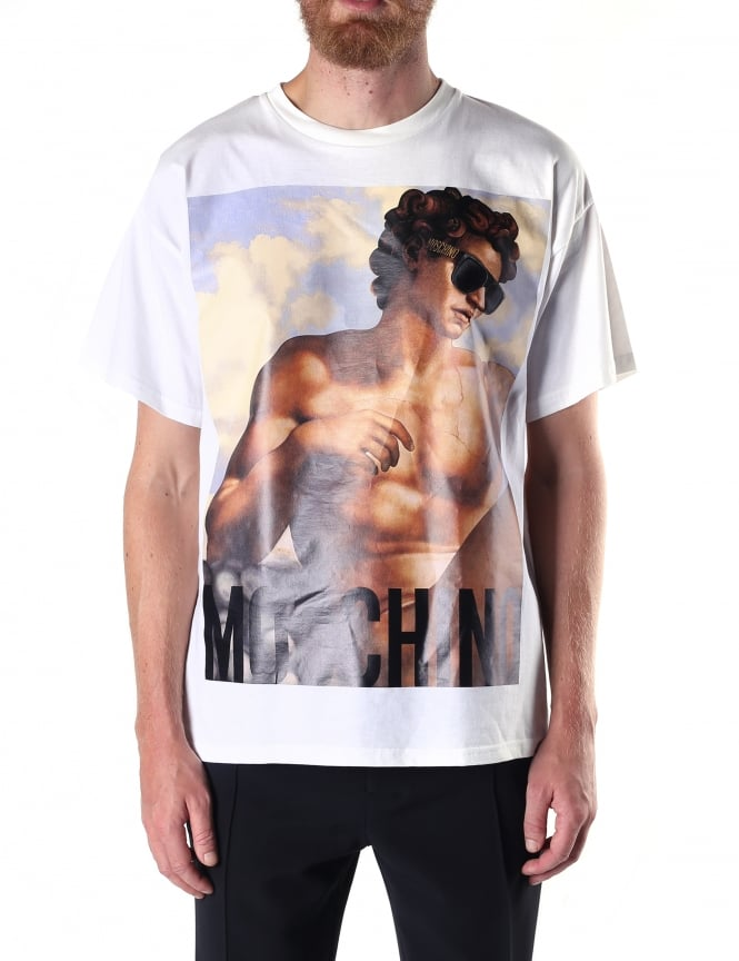 Moschino Crew Neck Men's Fresco Tee