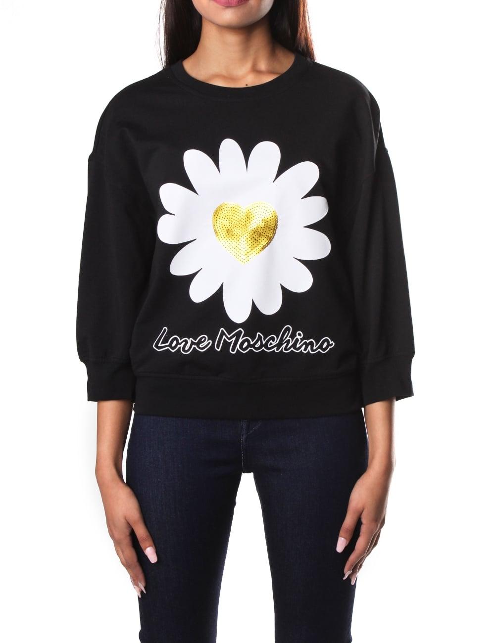 0f1956aaff6d Love Moschino Daisy Women s Sweat top