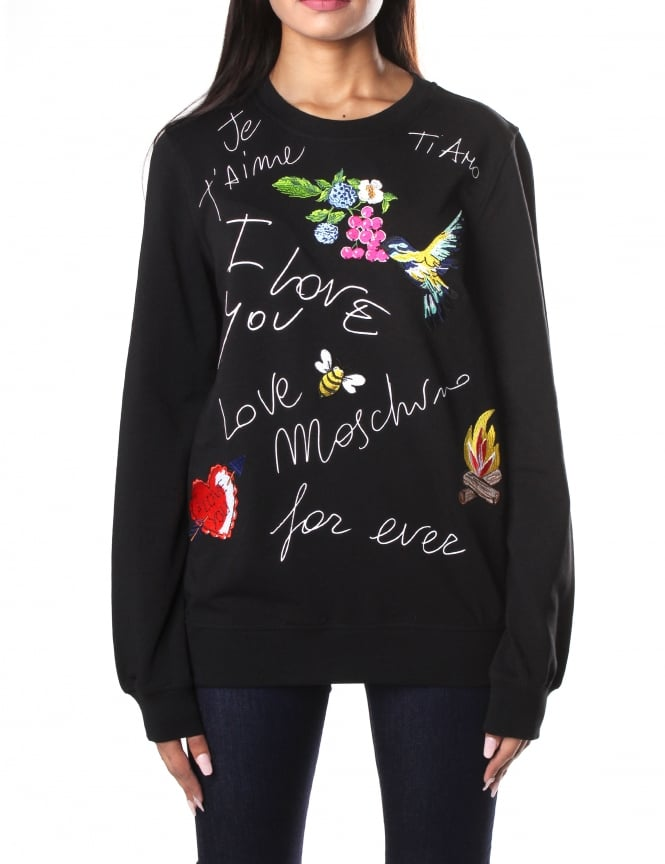 Moschino Je Taime Women's Sweat Top