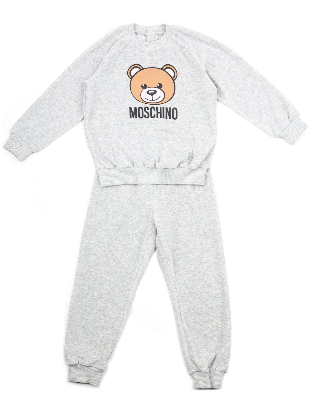 756c5b898e46d Moschino Baby and Toddler Girls Velour Bear Tracksuit