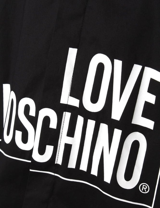 37d7141681e08 Moschino Love Moschino Men s Square Long Sleeve Shirt Black