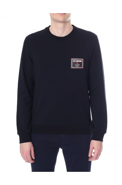 Men's Crew Neck Long Sleeve Sweat Top