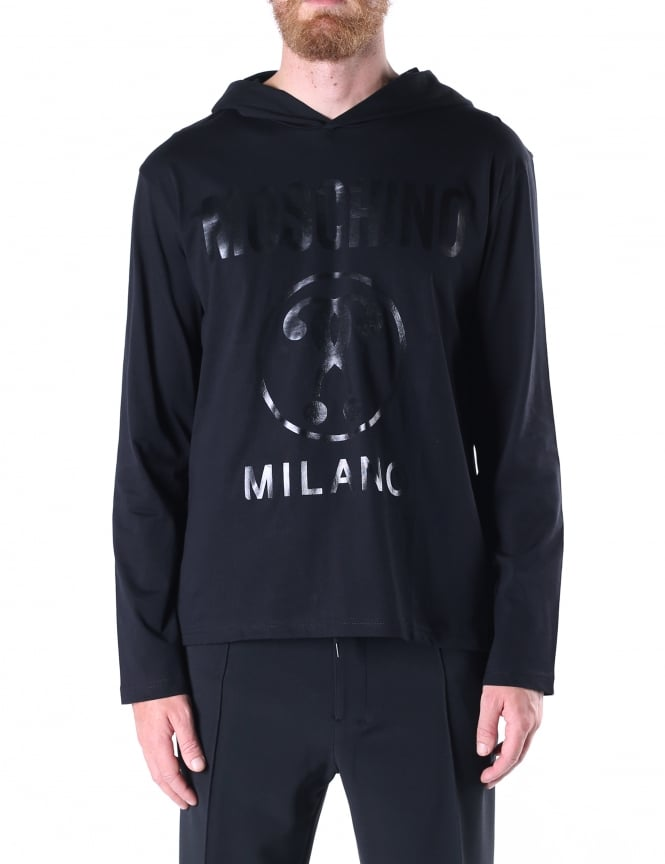 Moschino Men's Pullover Hooded Sweat Top