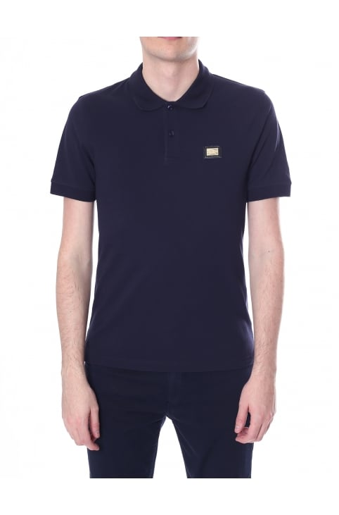 Men's Short Sleeve Polo Top