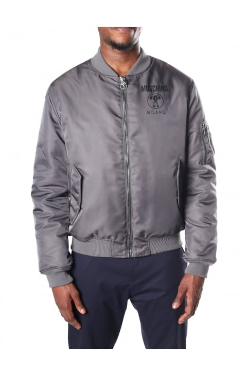 Men's Zip Through Bomber Jacket