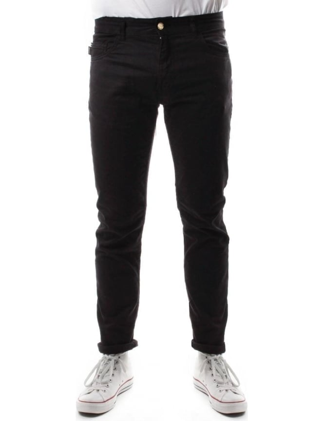 Moschino MQ421 Men's Slim Fit Jean Black