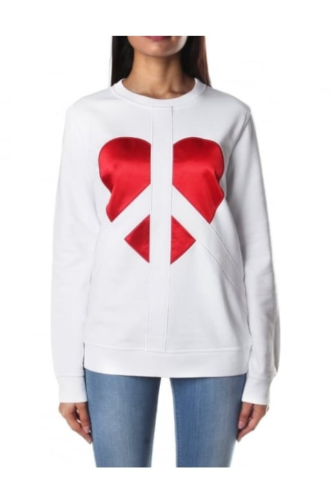 Peace Heart Women's Sweat Top