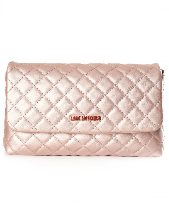 Moschino Quilted Women's Crossbody Bag