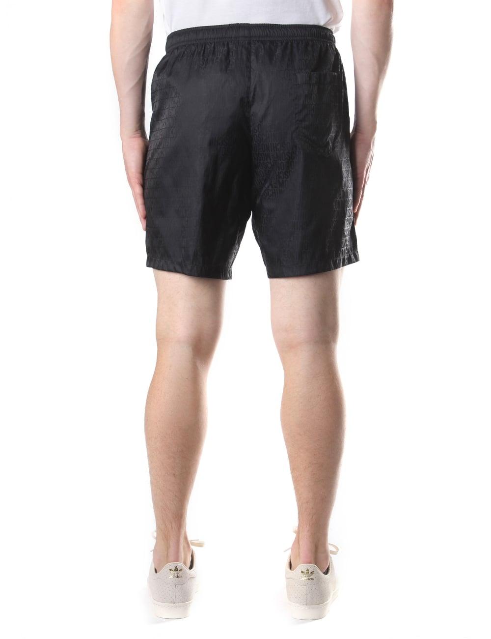6b7ed77175a97 Moschino Repeat Logo Men's Swim Shorts