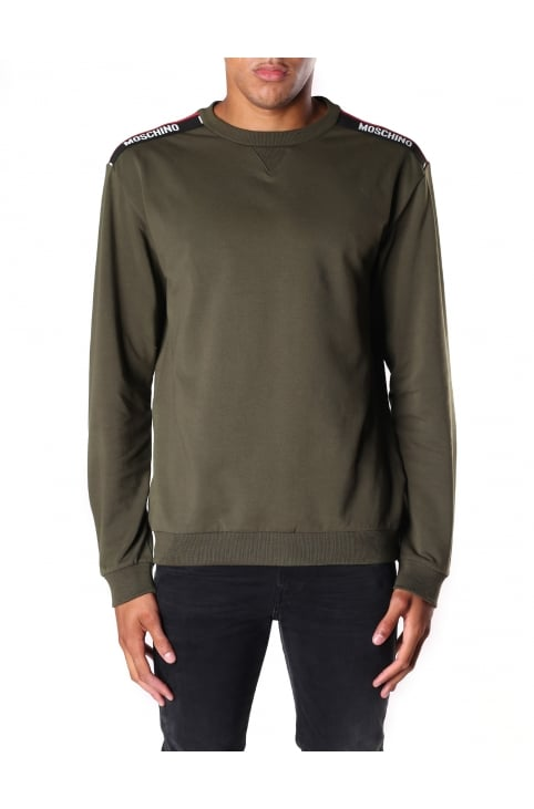 Shoulder Trim Men's Crew Neck Sweat