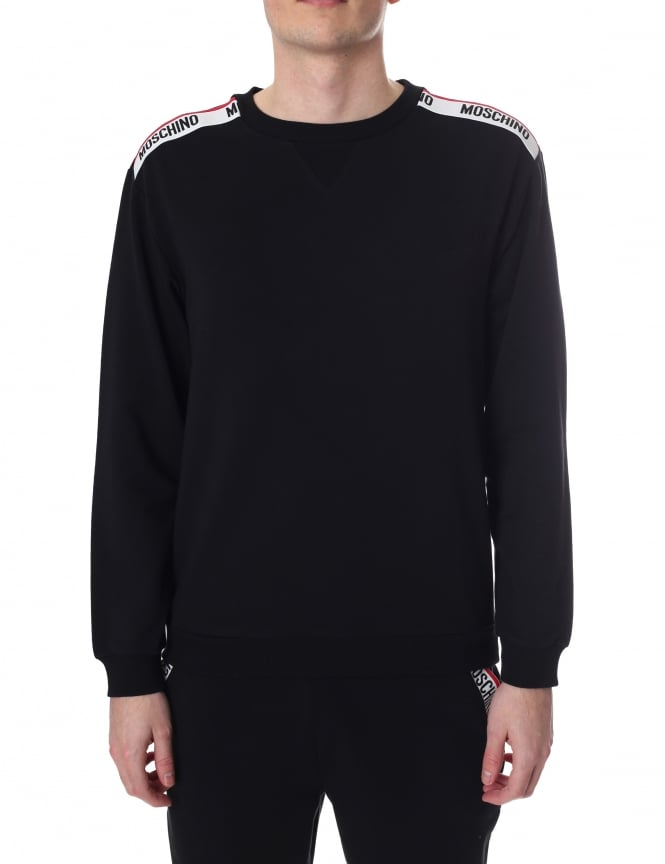 Moschino Tape Shoulder Men's Sweat Top