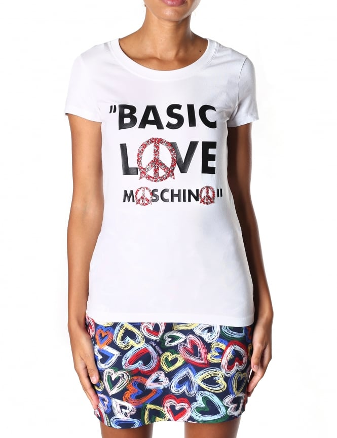 Moschino Women's Basic Love Tee