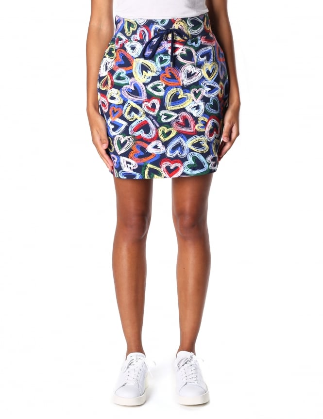 Moschino Women's Heart Short Skirt