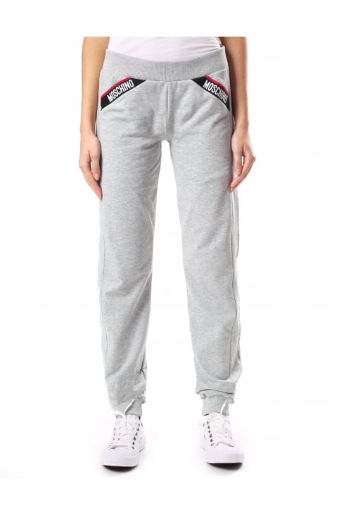 Women's Logo Pocket Trim Sweat Pants