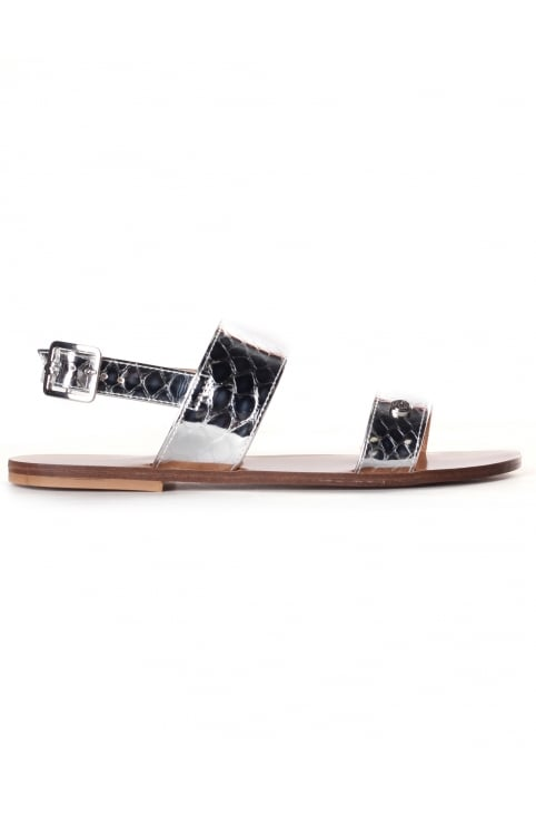 Women's Metallic Sandal