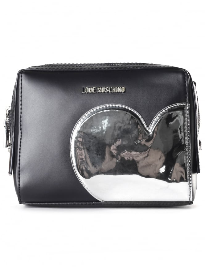 Moschino Women's Mirror Heart Strap Bag