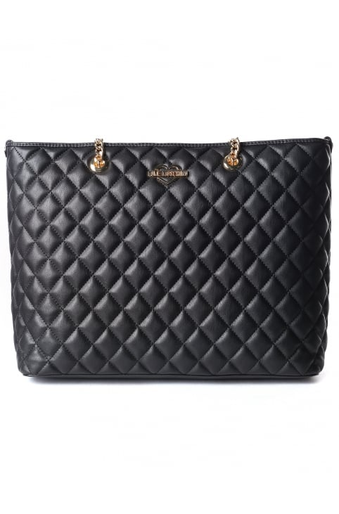 Women's Quilted Shopper Bag