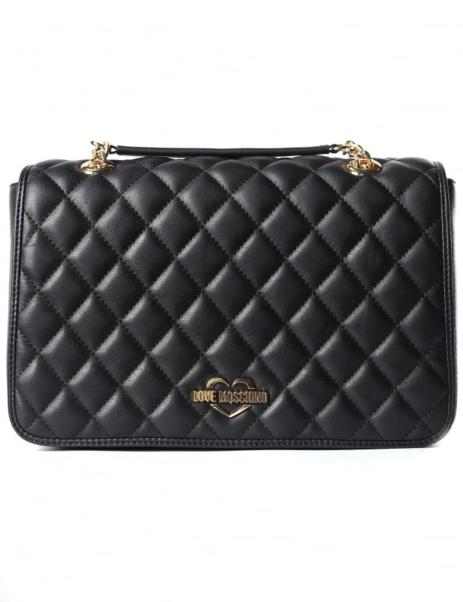 Moschino Women's Quilted Shoulder Bag