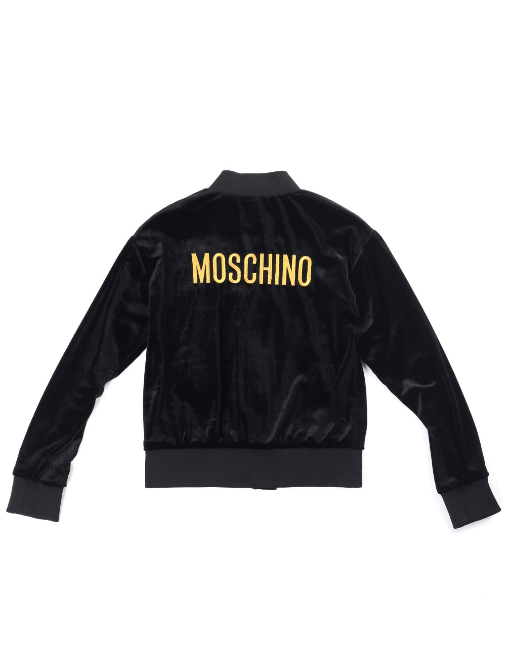 Moschino Young Girls Embroidered Bomber Jacket 159409399a16