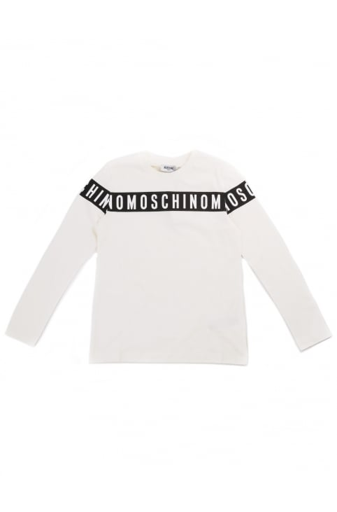 Youth Boys Logo Long Sleeve Tee