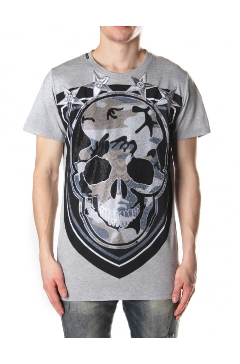Men's Shield Skull Tee