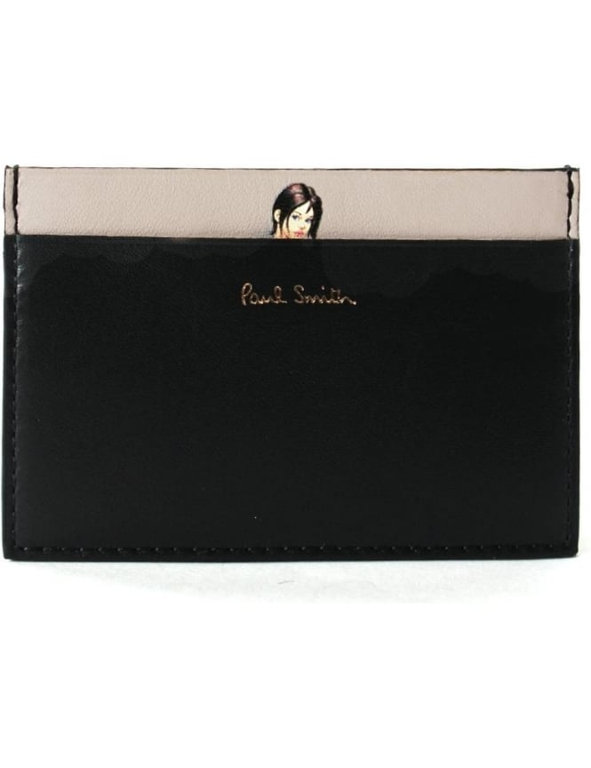 4f03cbfddc0e Paul Smith Naked Lady Men's Card Holder Black