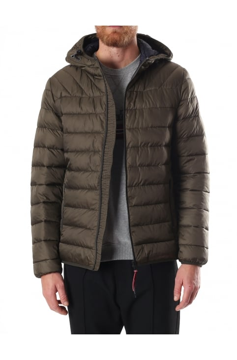 Aerons Men's Quilted Hooded Jacket