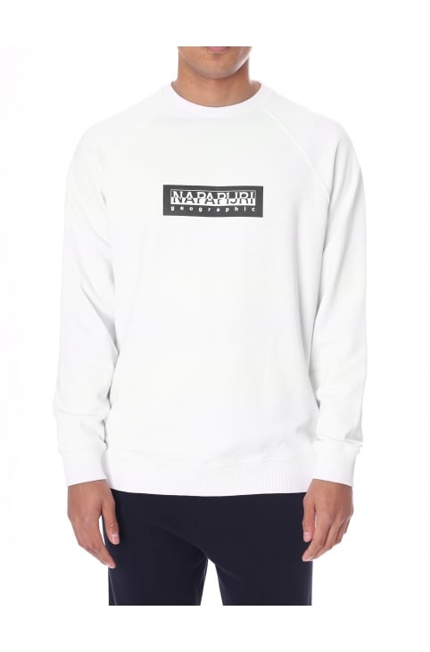 Men's Long Sleeve Crew Neck Sweat Top